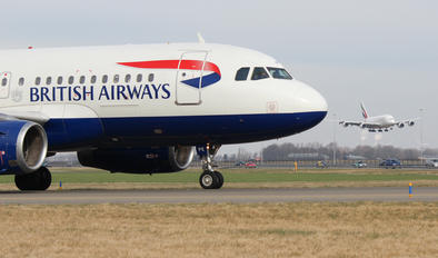 G-EUPK - British Airways Airbus A319