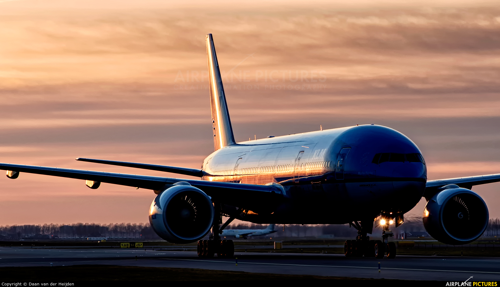 KLM PH-BQM aircraft at Amsterdam - Schiphol