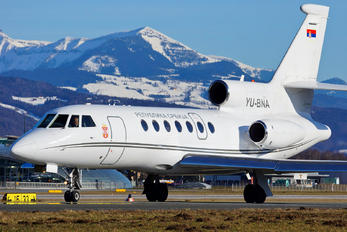 YU-BNA - Serbia - Government Dassault Falcon 50