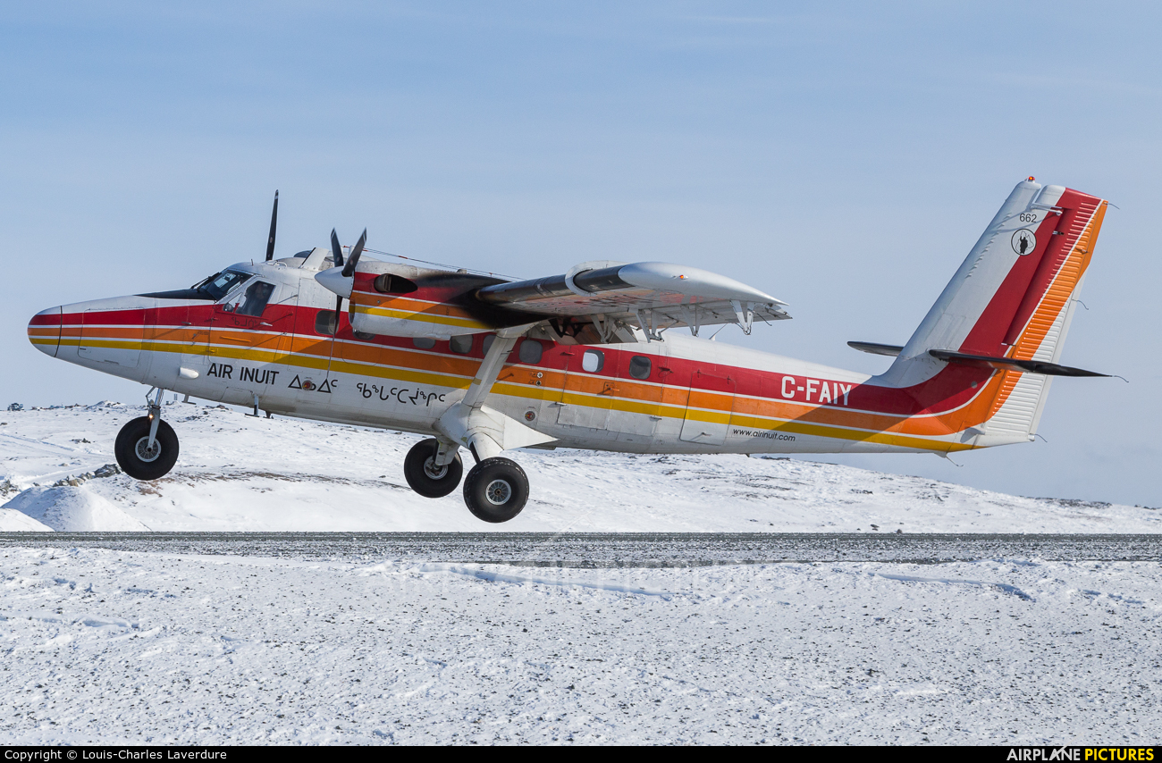 Air Inuit C-FAIY aircraft at Off Airport - Canada