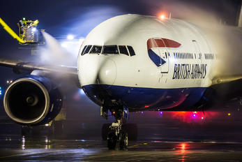 G-YMMA - British Airways Boeing 777-200