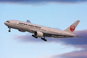 JA709J - JAL - Japan Airlines Boeing 777-200ER aircraft