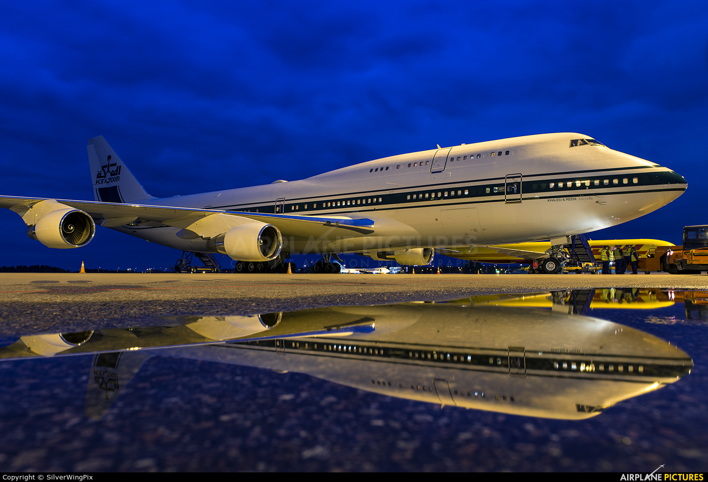 Kingdom Holding HZ-WBT7 aircraft at Stockholm - Arlanda