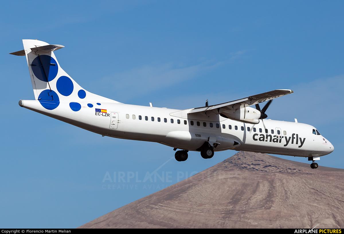 CanaryFly EC-LZR aircraft at Lanzarote - Arrecife