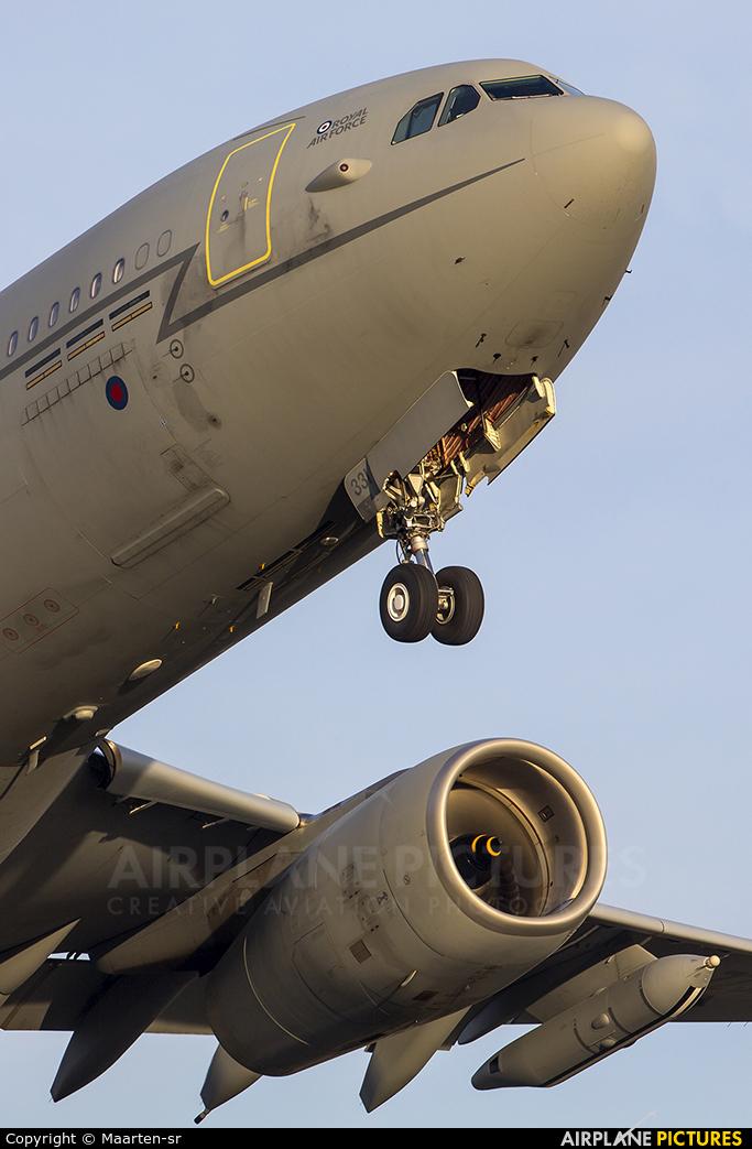 Royal Air Force ZZ331 aircraft at Amsterdam - Schiphol