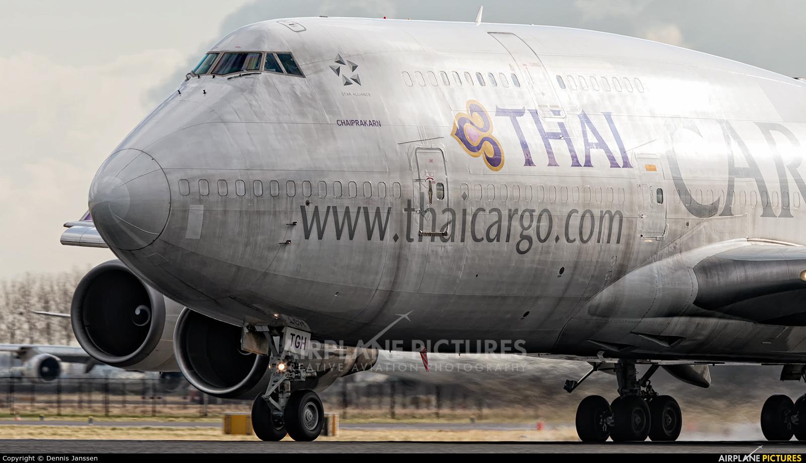 Thai Cargo HS-TGH aircraft at Amsterdam - Schiphol