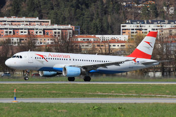 OE-LBV - Austrian Airlines/Arrows/Tyrolean Airbus A320