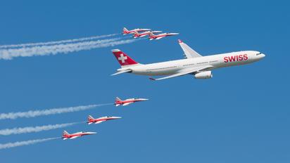 HB-JHN - Swiss Airbus A330-300