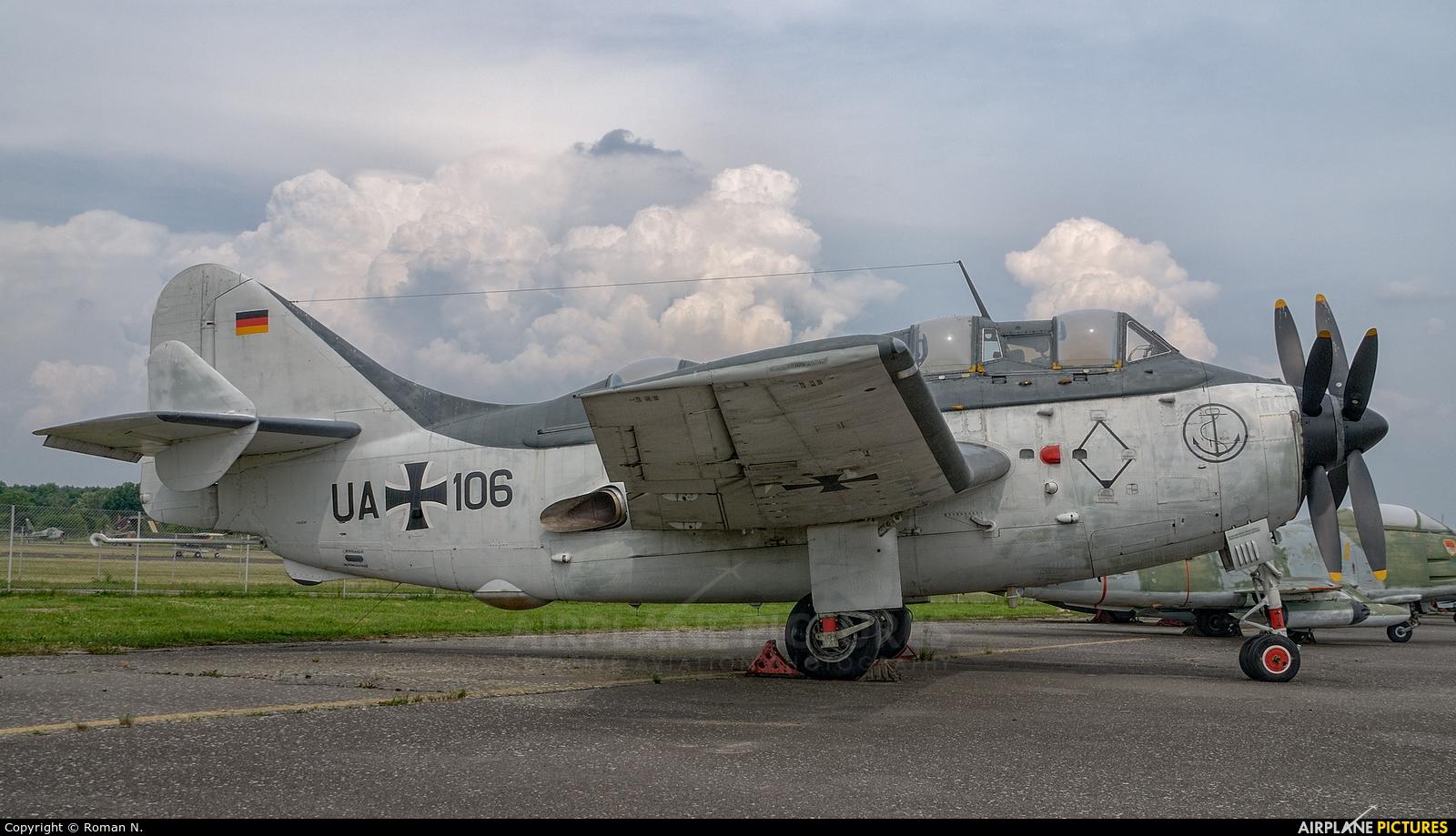 Germany - Navy UA+106 aircraft at Berlin - Gatow