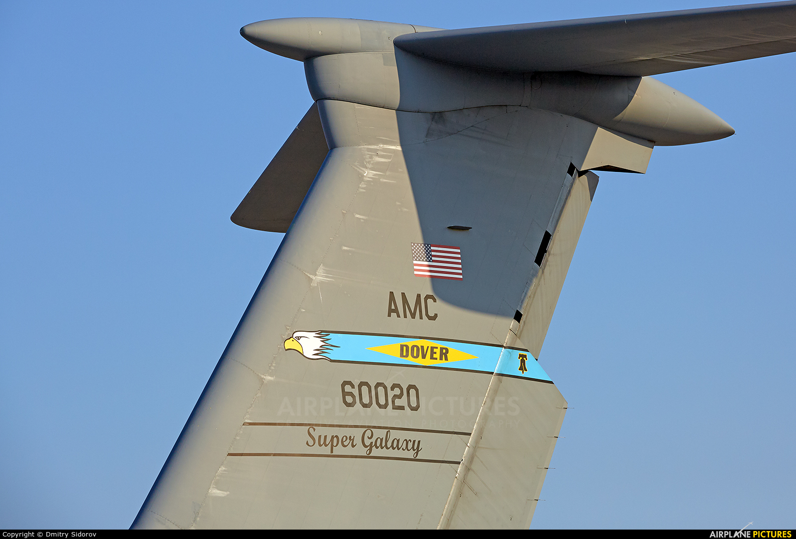 USA - Air Force 86-0020 aircraft at Kiev - Borispol
