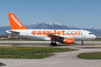 G-EZDC - easyJet Airbus A319