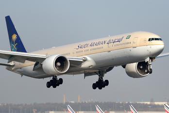 HZ-AK11 - Saudi Arabian Airlines Boeing 777-300ER
