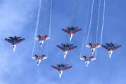 "11 - Russia - Air Force ""Russian Knights"" Sukhoi Su-27 aircraft"