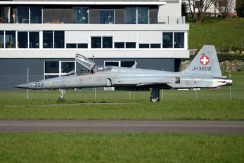 J-3202 - Switzerland - Air Force Northrop F-5F Tiger II