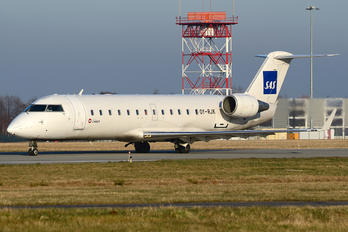 OY-RJK - SAS - Scandinavian Airlines Canadair CL-600 CRJ-200