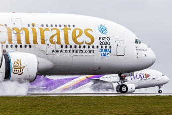 A6-EEE - Emirates Airlines Airbus A380