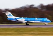 PH-WXC - KLM Cityhopper Fokker 70 aircraft