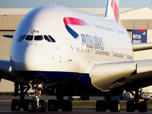 G-XLEH - British Airways Airbus A380