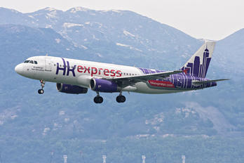 B-LCB - Hong Kong Express Airbus A320