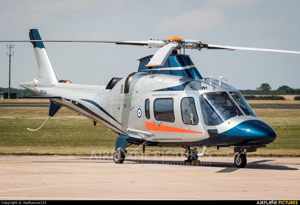 FB Heliservices ZR324 aircraft at Shawbury