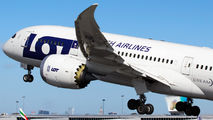 SP-LRA - LOT - Polish Airlines Boeing 787-8 Dreamliner aircraft