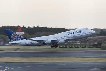 N116UA - United Airlines Boeing 747-400