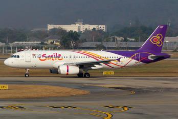 HS-TXC - Thai Smile Airbus A320