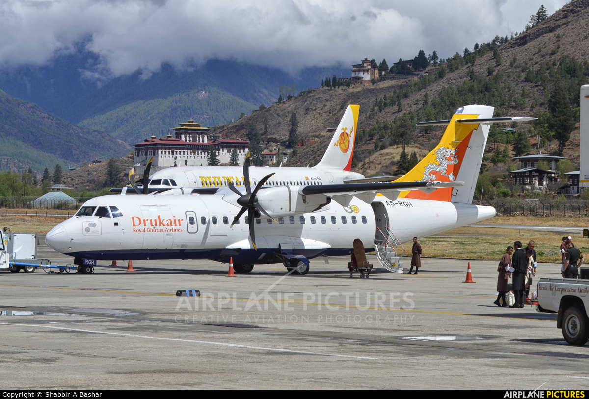 Drukair - Royal Bhutan Airlines ATR 42 (all models) A5-RGH