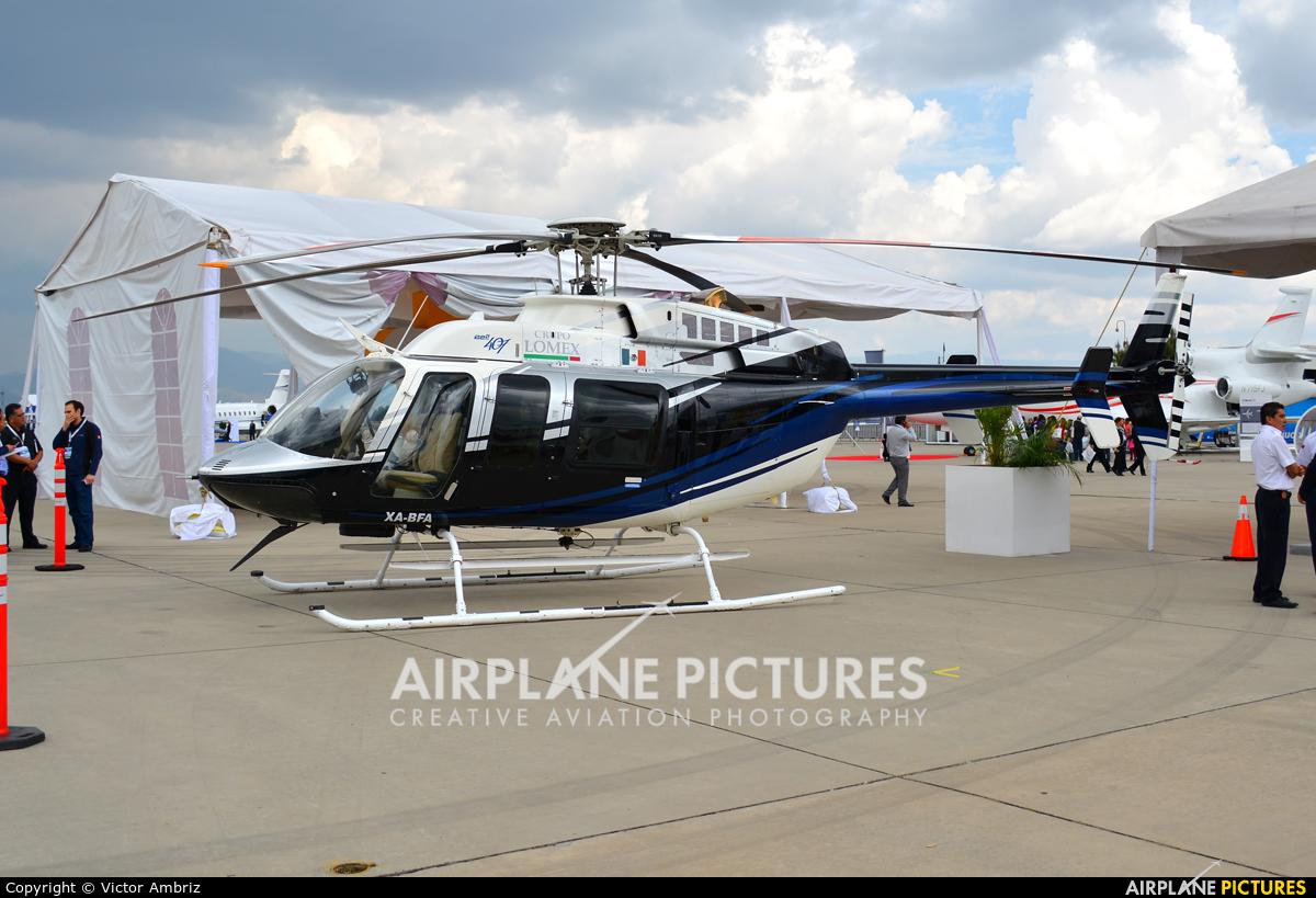 Private XA-BFA aircraft at Toluca Intl