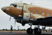 Commemorative Air Force DC-3 in Chandler Municipal title=