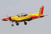 "ST-43 - Belgium - Air Force ""Hardship Red"" SIAI-Marchetti SF-260 aircraft"