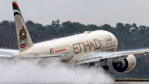 A6-LRA - Etihad Airways Boeing 777-200LR aircraft