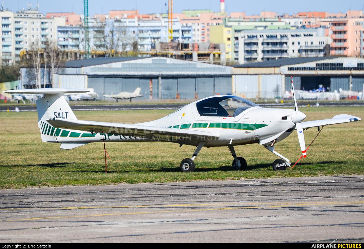 Salt Aviation SP-KWH aircraft at Warsaw - Babice