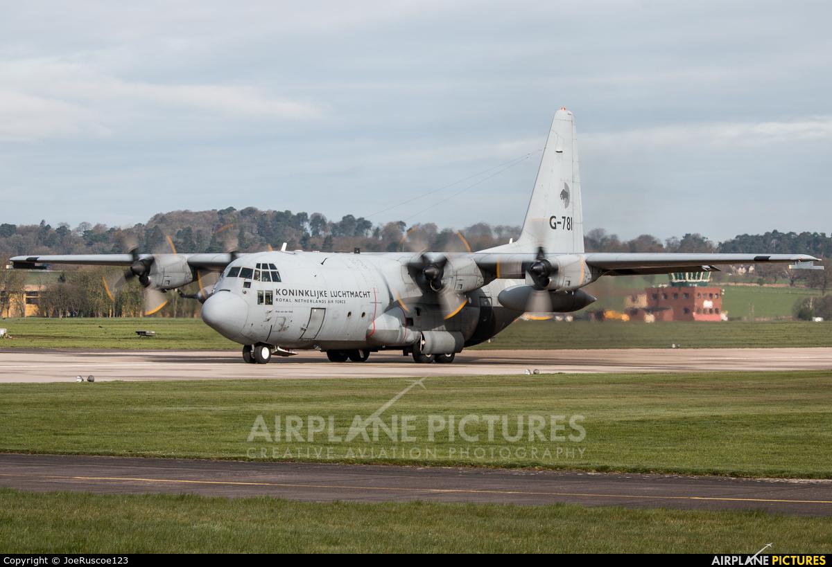 Netherlands - Air Force G-781 aircraft at Shawbury