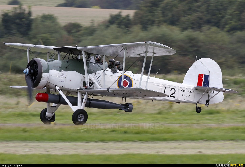 "Royal Navy ""Historic Flight"" LS326 aircraft at Brighton - Shoreham"