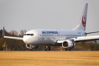 JA350J - JAL - Express Boeing 737-800