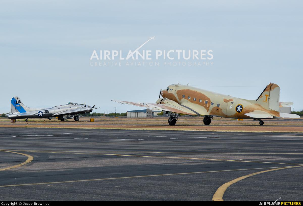 Commemorative Air Force N53ST aircraft at Chandler Municipal