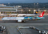 Special livery for Turkish Airlines to inaugurate Istanbul - San Francisco flights title=