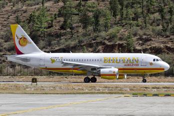 A5-BAB - Bhutan Airlines Airbus A319