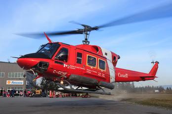C-GCHF - Canada - Coast Guard Bell 212
