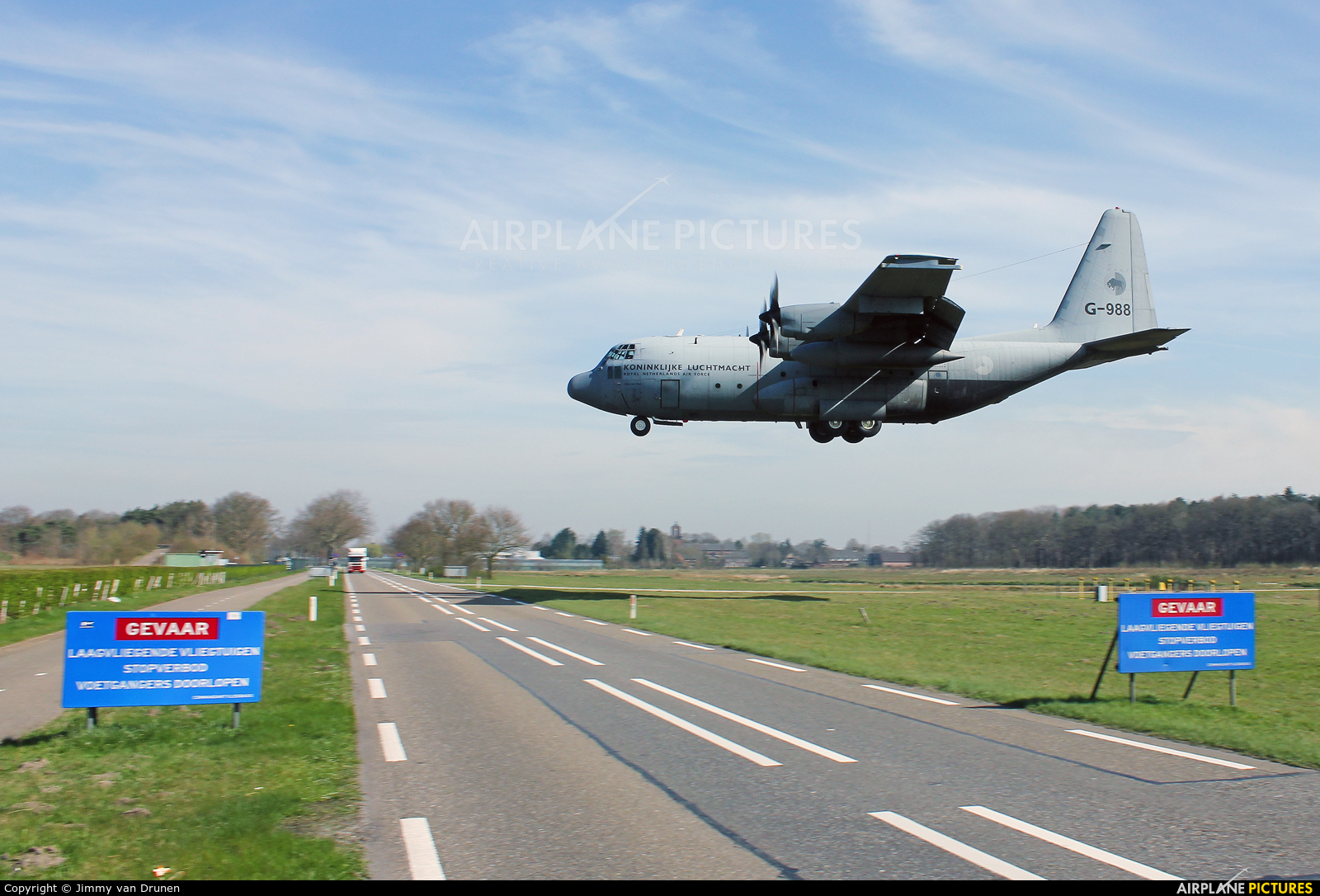 Netherlands - Air Force G-988 aircraft at Gilze-Rijen