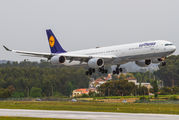 D-AIHN - Lufthansa Airbus A340-600 aircraft