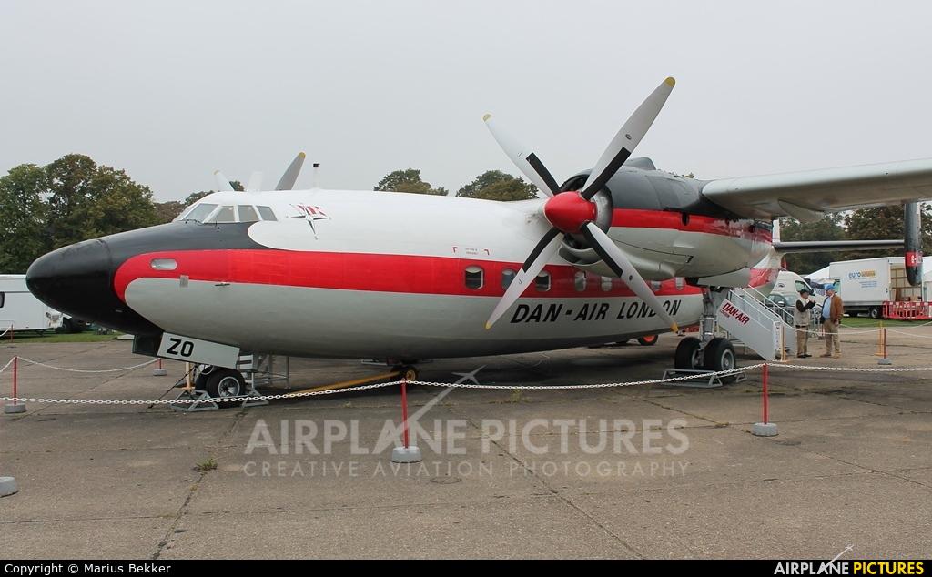 Dan Air London G-ALZO aircraft at Duxford