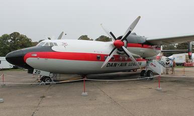 G-ALZO - Dan Air London Airspeed AS57 Ambassador 2