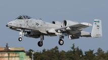 81-0992 - USA - Air Force Fairchild A-10 Thunderbolt II (all models) aircraft
