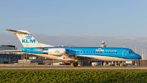 PH-KZM - KLM Cityhopper Fokker 70 aircraft