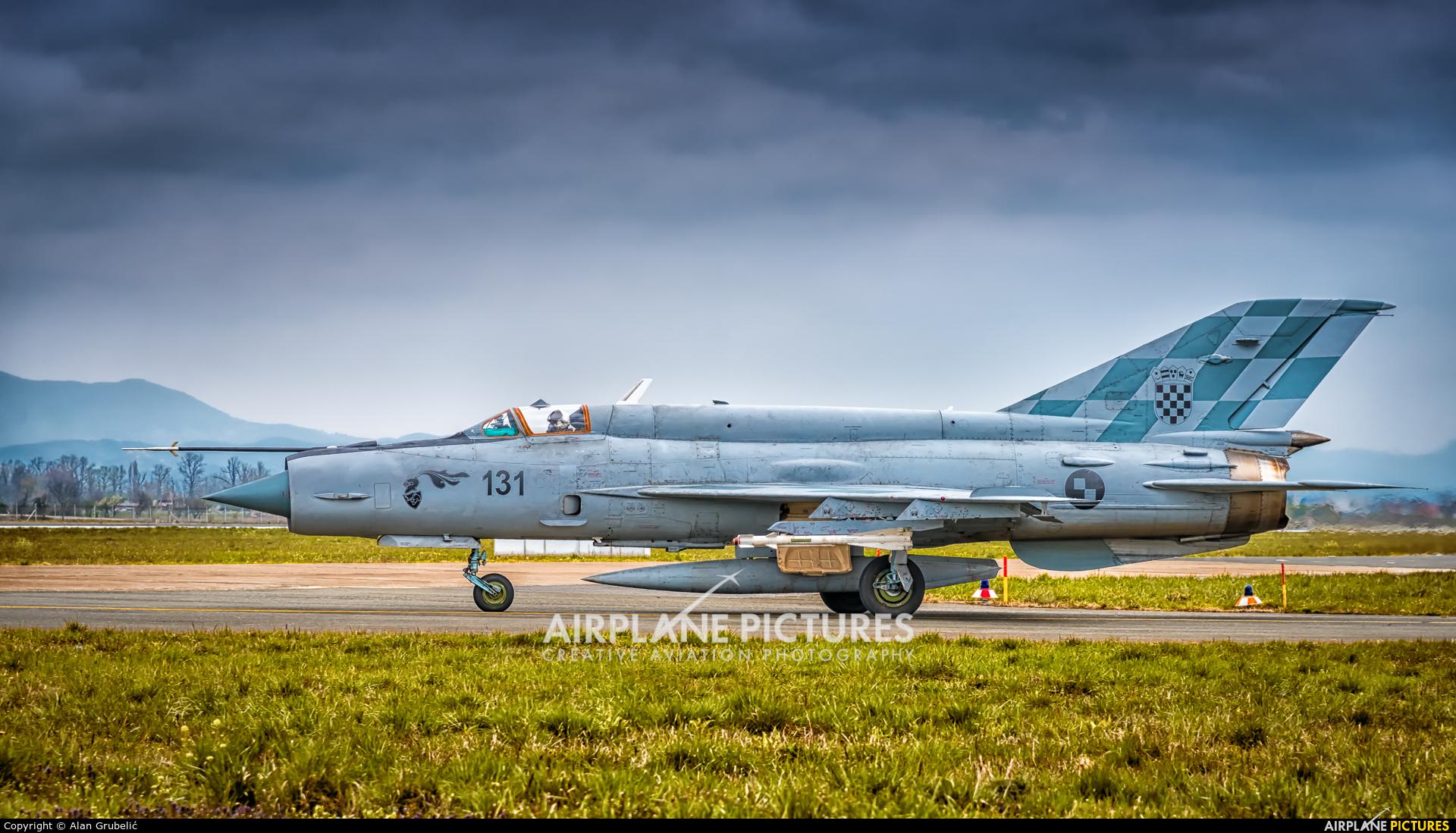 Croatia - Air Force 131 aircraft at Zagreb