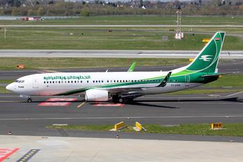 YI-ASQ - Iraqi Airways Boeing 737-800