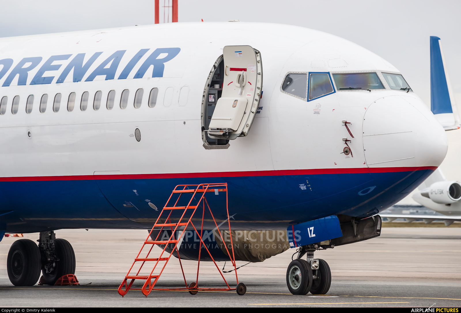 Orenair VQ-BIZ aircraft at Moscow - Sheremetyevo