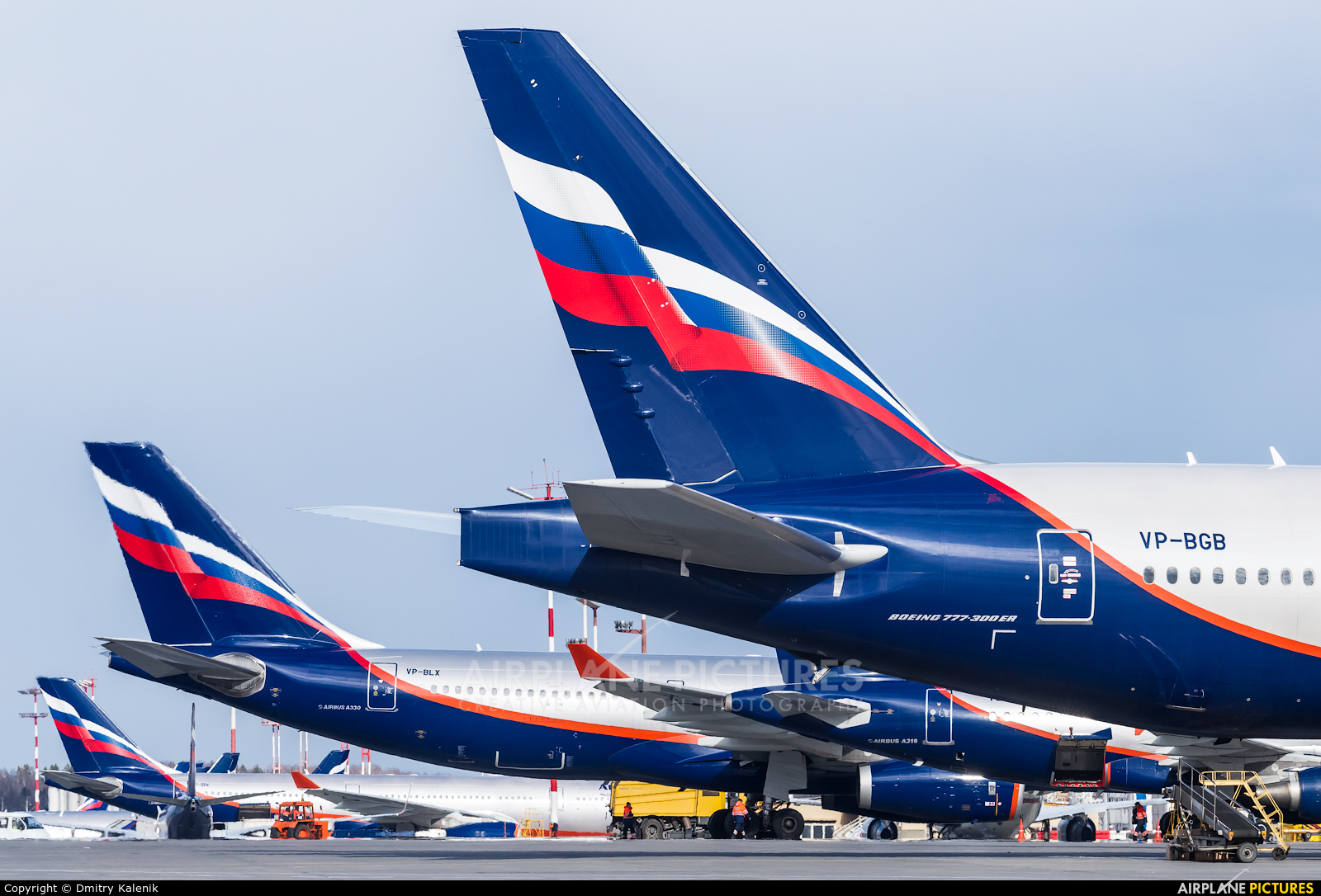 Aeroflot VP-BGB aircraft at Moscow - Sheremetyevo
